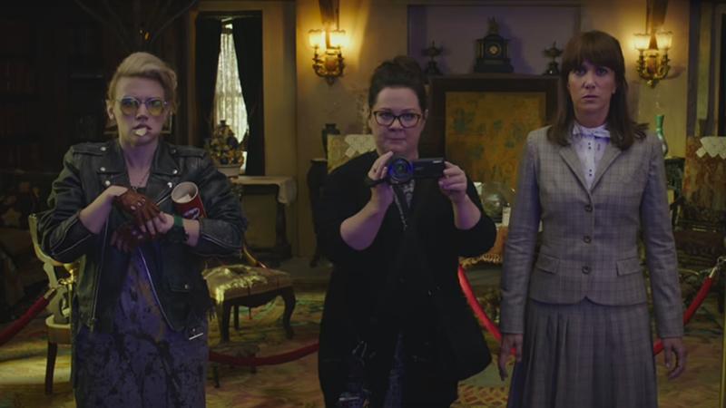 new ghostbusters trailer Erin Gilbert Kristen Wiig Abby Yates Melissa McCarthy Kate McKinnon holtzmann