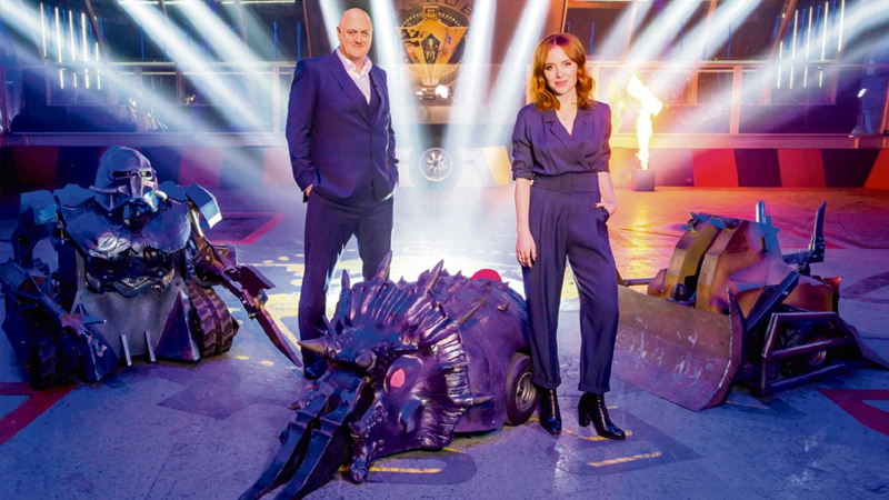 new robot wars review dara angela